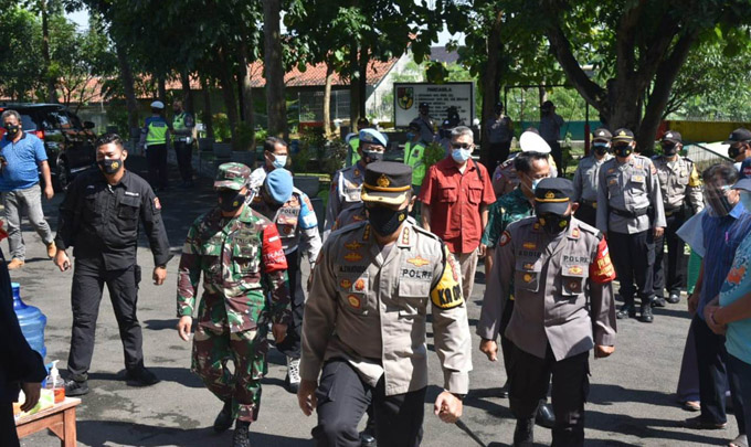 Cirebon Police Chief Asks for the Covid-19 Task Force to Strengthen 3T