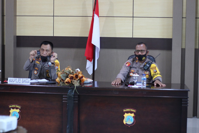 Deputy Chief of Police of Banggai Asks Members to Carry Out Tasks with Sincerity and Full Responsibility - POLRI PRIVATE DIVISION