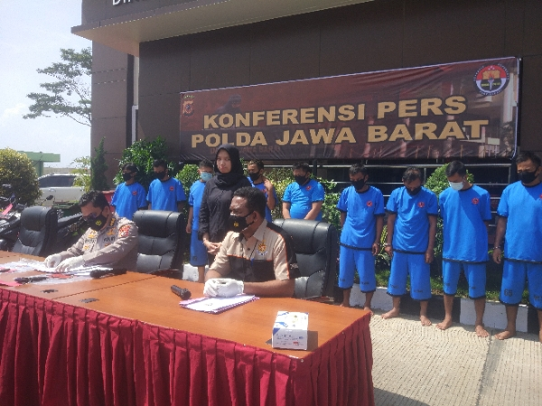Increased During the Pandemic, Two Weeks 249 Curanmor Actors Arrested by the West Java Regional Police