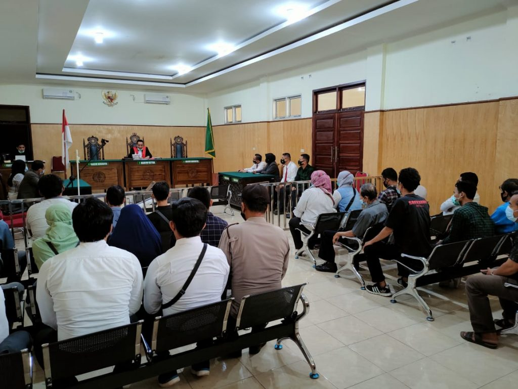 KG's pretrial lawsuit against Lahat Police in the case of Narcotics is rejected - POLRI PRIVATE VISION