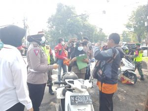 Operation Yustisi and Free Masks for Pasuruan City Police - POLRI PRIVACY DIVISION