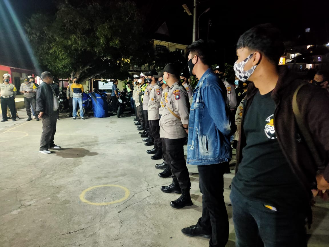 Polres Kep.  Anambas Incessantly Raids THM and Two-Wheeled Vehicles to Support the Police Chief's Precision Program - POLRI PRIVATE DIVISION
