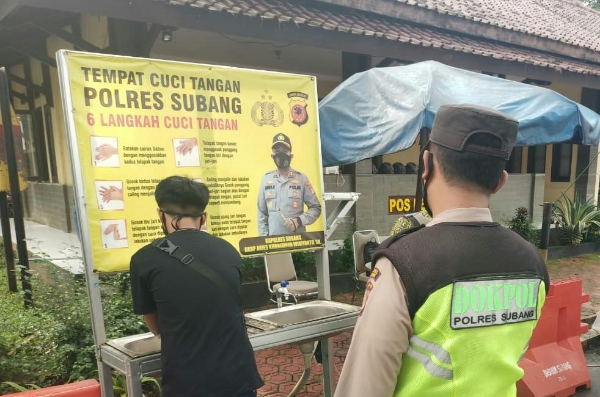 Subang Polres to Tighten the Implementation of Health Protocols
