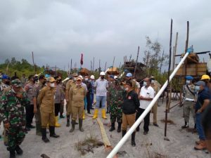The Joint TNI-Polri Team, Satpol PP and Forkompimda Conduct Checks and Appeals for Unconventional Mining - POLRI PRIVATE DIVISION
