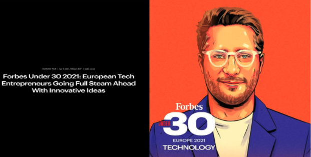 Potloc CEO Tops 2021 Forbes Under 30 List of Young Tech Leaders