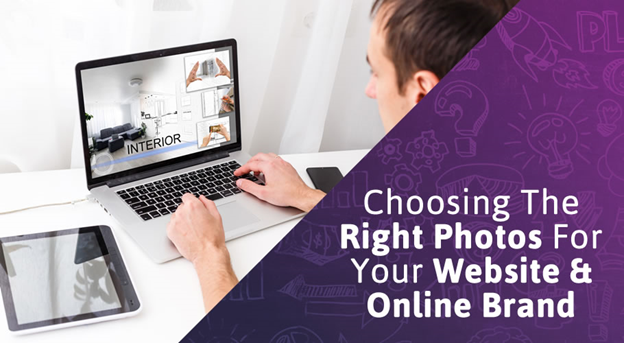 How to choose the right photos for your website & online brand